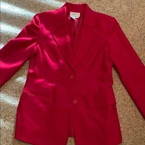 Chadwick's red wool blazer
